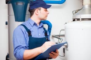 inspección de gas